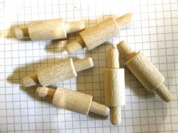 Miniature Wooden Rolling Pin ( Seconds)